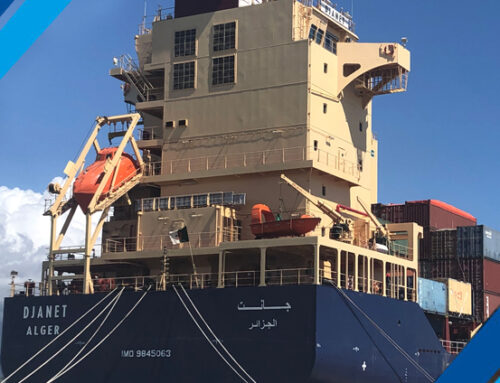 Marina di Carrara: voilà le MV Djanet